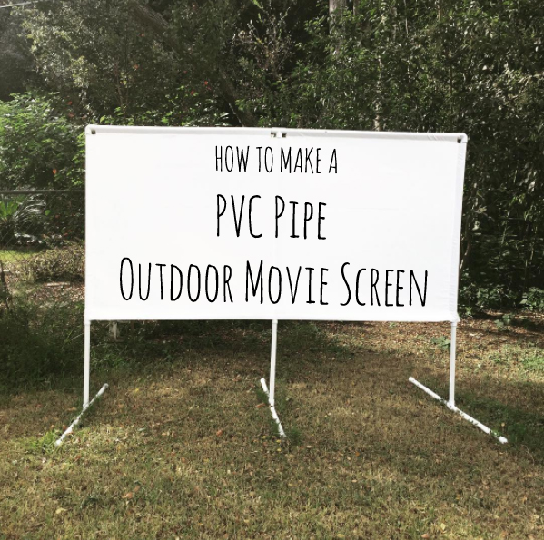 PVC Pipe Outdoor Movie Screen – Broads and Boards